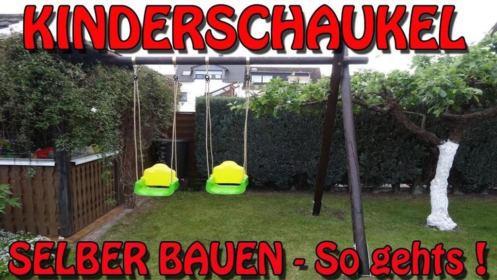 """""""stabile Kinderschaukel Selber Bauen"""" Tipps Und Tricks Von Horst ;) von Gartenschaukel Selber Bauen Anleitung Photo"""