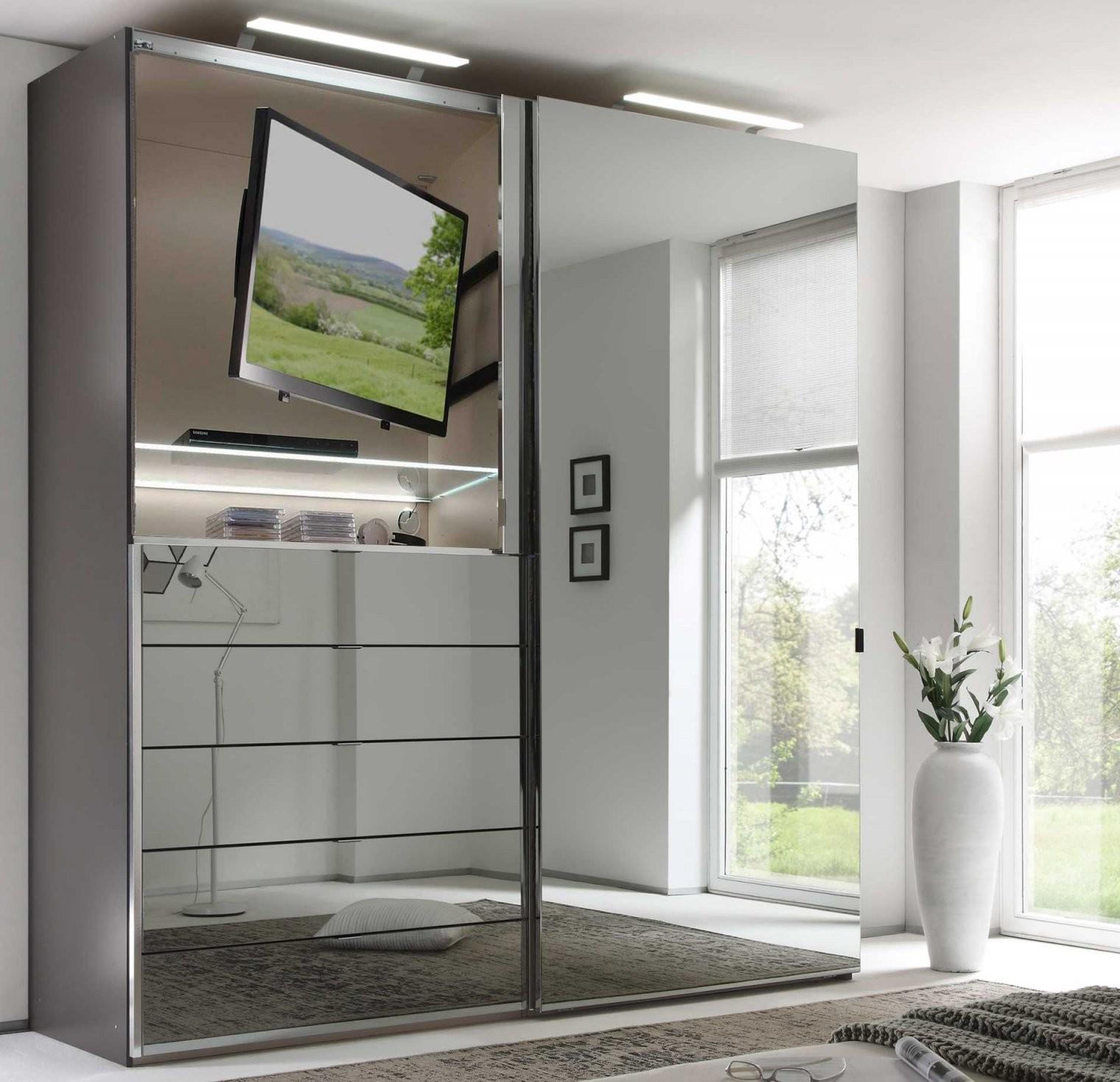 Staud Media Kleiderschrank Mit Tv Fach Glas Viele Farben Breite 200 von Kleiderschrank Mit Tv Fach Photo