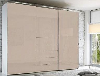 Staud Media Kleiderschrank Mit Tv Fach Glas Viele Farben Breite 298 von Schlafzimmerschrank Mit Tv Fach Bild