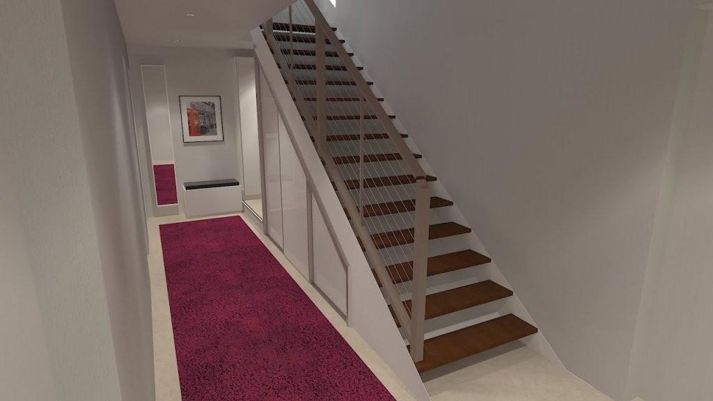 Stauraum Unter Einer Offenen Treppe Sinnvoll Nutzen  Youtube von Regale Unter Der Treppe Photo