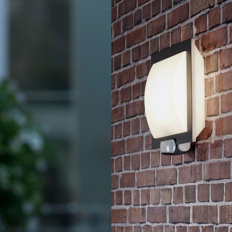 Steinel L 20 Designsensoraußenleuchte  Clicklicht von Außenleuchte Mit Bewegungsmelder 180 Grad Photo
