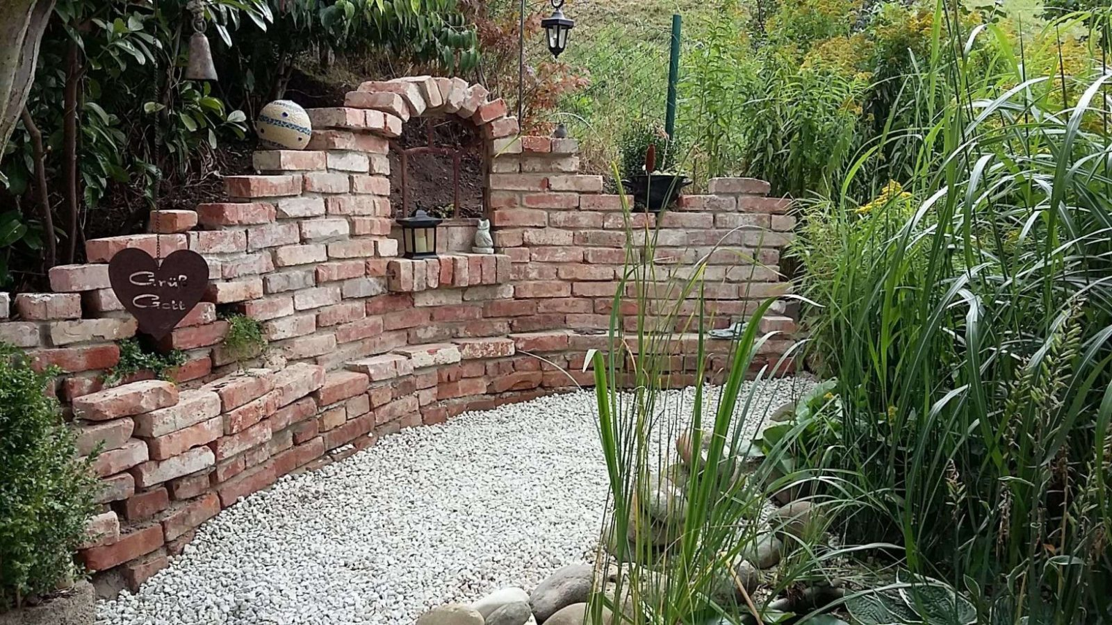 Steinmauer Im Garten Das Beste Von Mauer Garten Selber Bauen Elegant von Steinmauern Im Garten Selber Bauen Bild