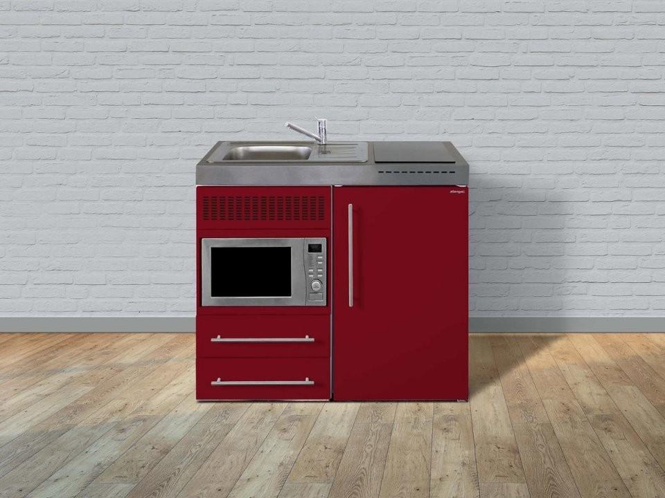 Stengel Pantryküche Premiumline Mpm 100 Mit Kühlschrank Und Mikrowell von Pantryküche 100 Cm Mit Kühlschrank Bild