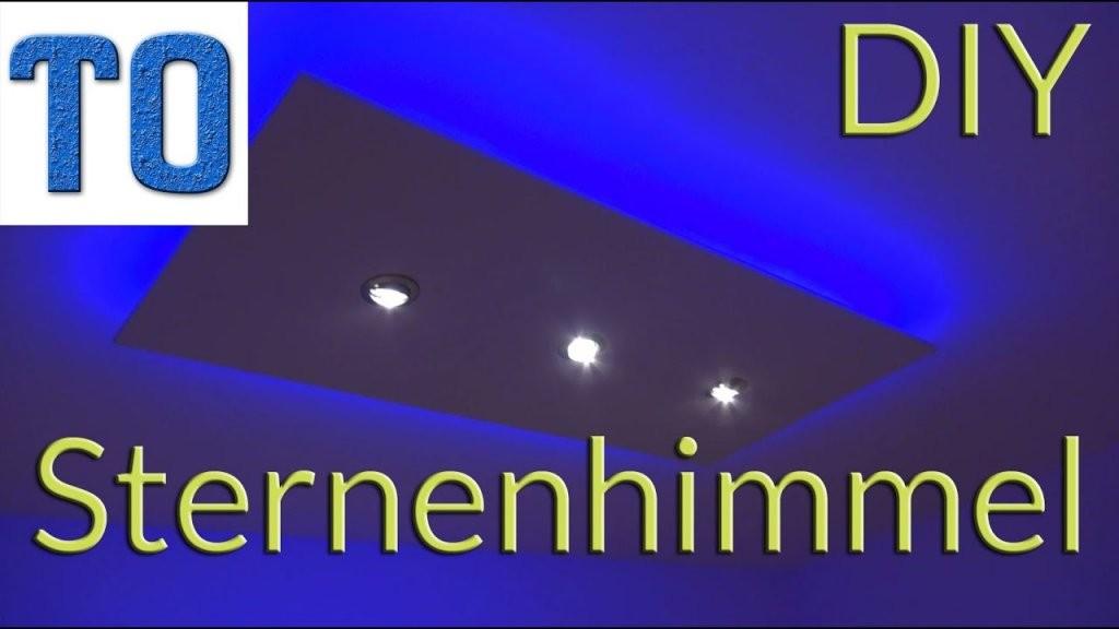 Sternenhimmel Selber Bauen  Deckenlampe  Bauanleitung Deutsch von Sternenhimmel Lampe Selber Bauen Photo
