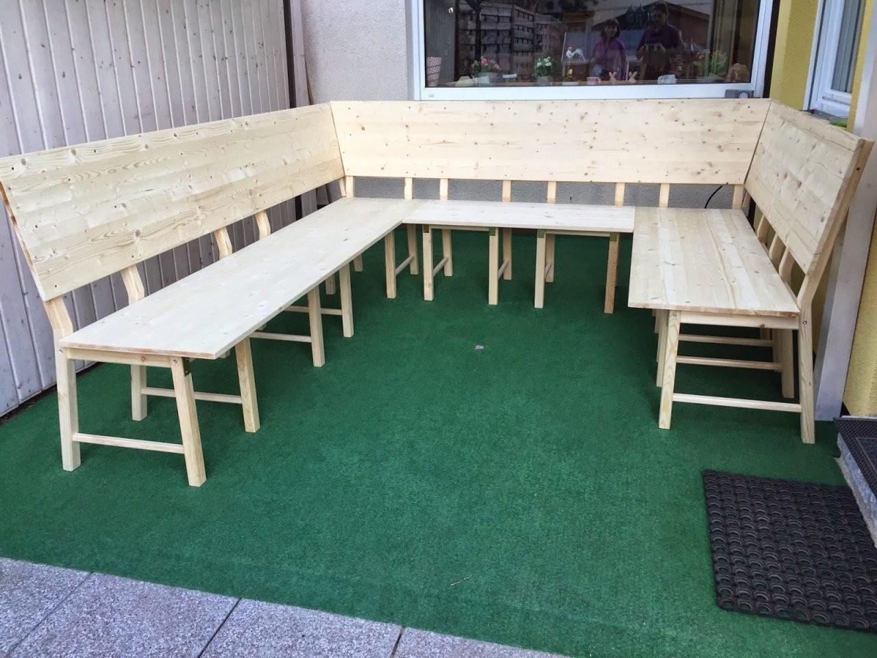 Stickuhlinchen Diy Ikea Hack  Aus 8 Stühlen Wird Eine Große von Eckbank Selber Bauen Ikea Bild