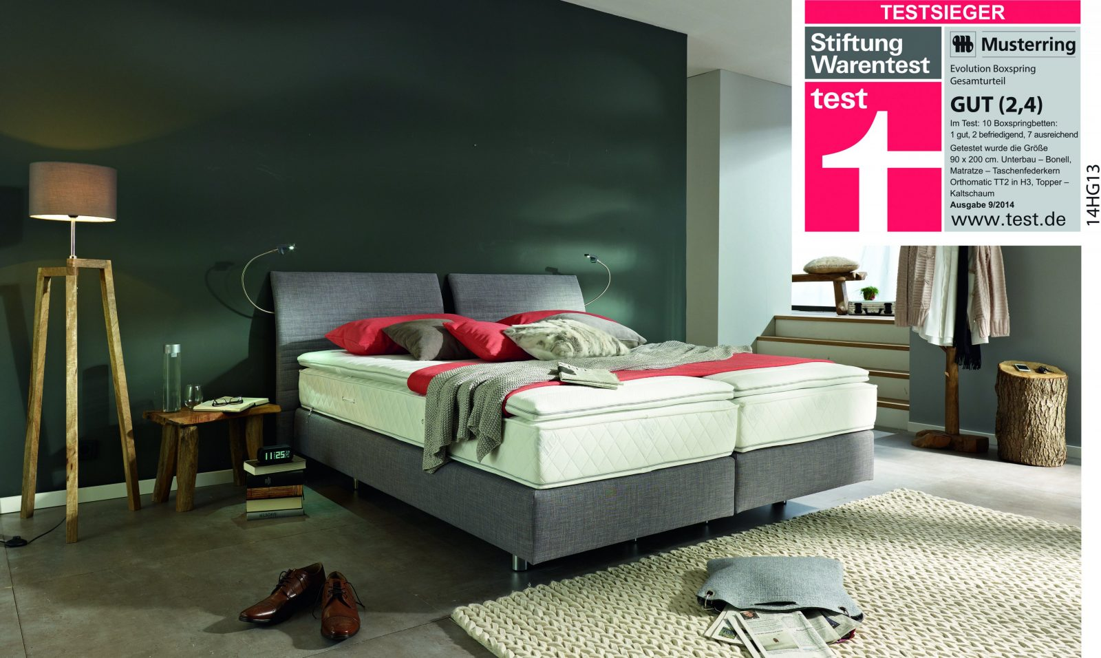 Stiftung Warentest Musterrings Boxspringbett Evolution Gewinnt von Topper Test Stiftung Warentest Photo