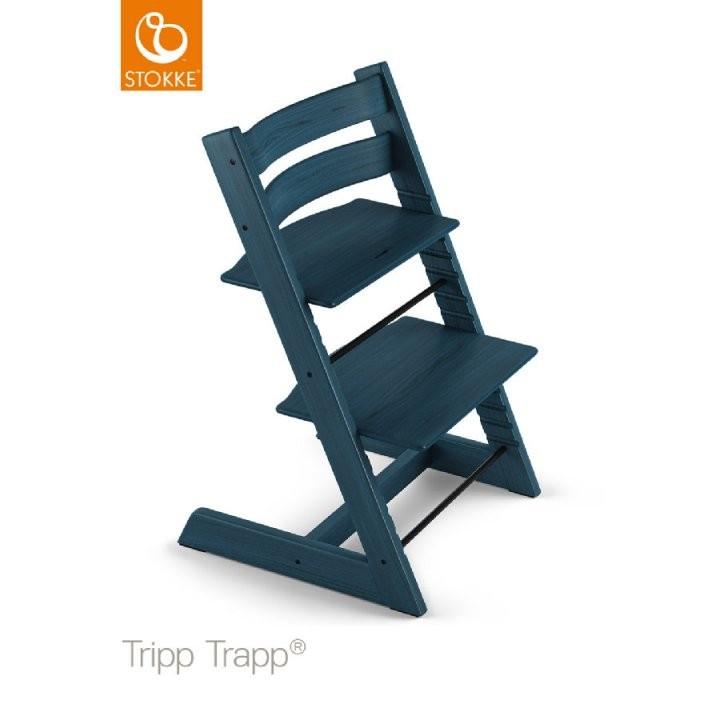 Stokke® Tripp Trapp® Hochstuhl Buche Midnight Blue  Babymarkt von Stokke Tripp Trapp Buche Bild
