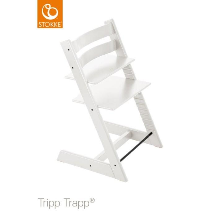 Stokke® Tripp Trapp® Hochstuhl Buche Weiß  Babymarkt von Stokke Tripp Trapp Buche Bild