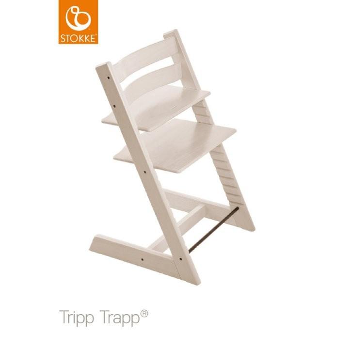 Stokke® Tripp Trapp® Hochstuhl Buche Weiß Transparent  Babymarkt von Stokke Tripp Trapp Buche Bild