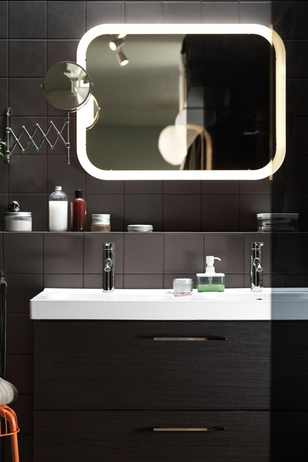Storjorm Spiegel Mit Beleuchtung Weiß In 2019  Badezimmer von Spiegel Mit Beleuchtung Ikea Photo