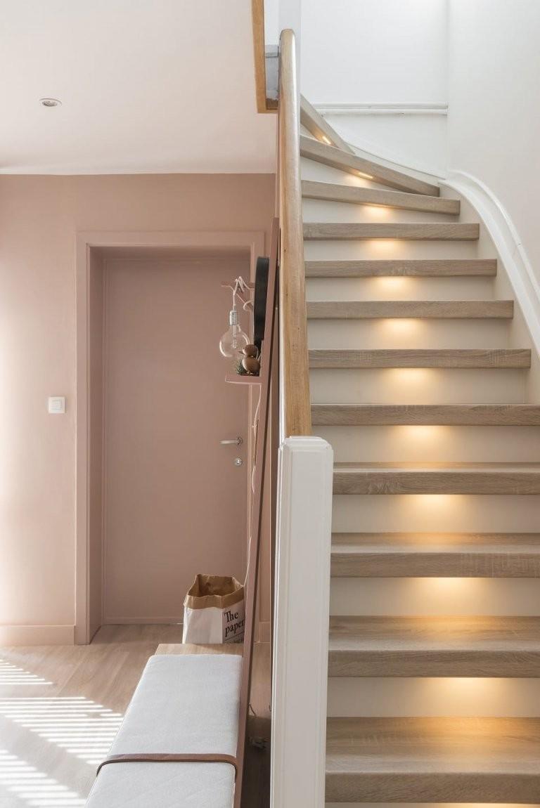 Streichen Die Schönsten Farbkombinationen Für Ihr Treppenhaus von Treppe Streichen Welche Farbe Bild