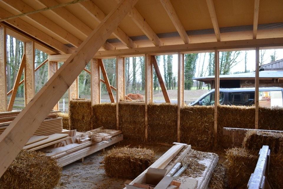 Strohballenhaus Vorteile Und Nachteile Des Strohballenbau von Haus Selber Bauen Kosten Bild