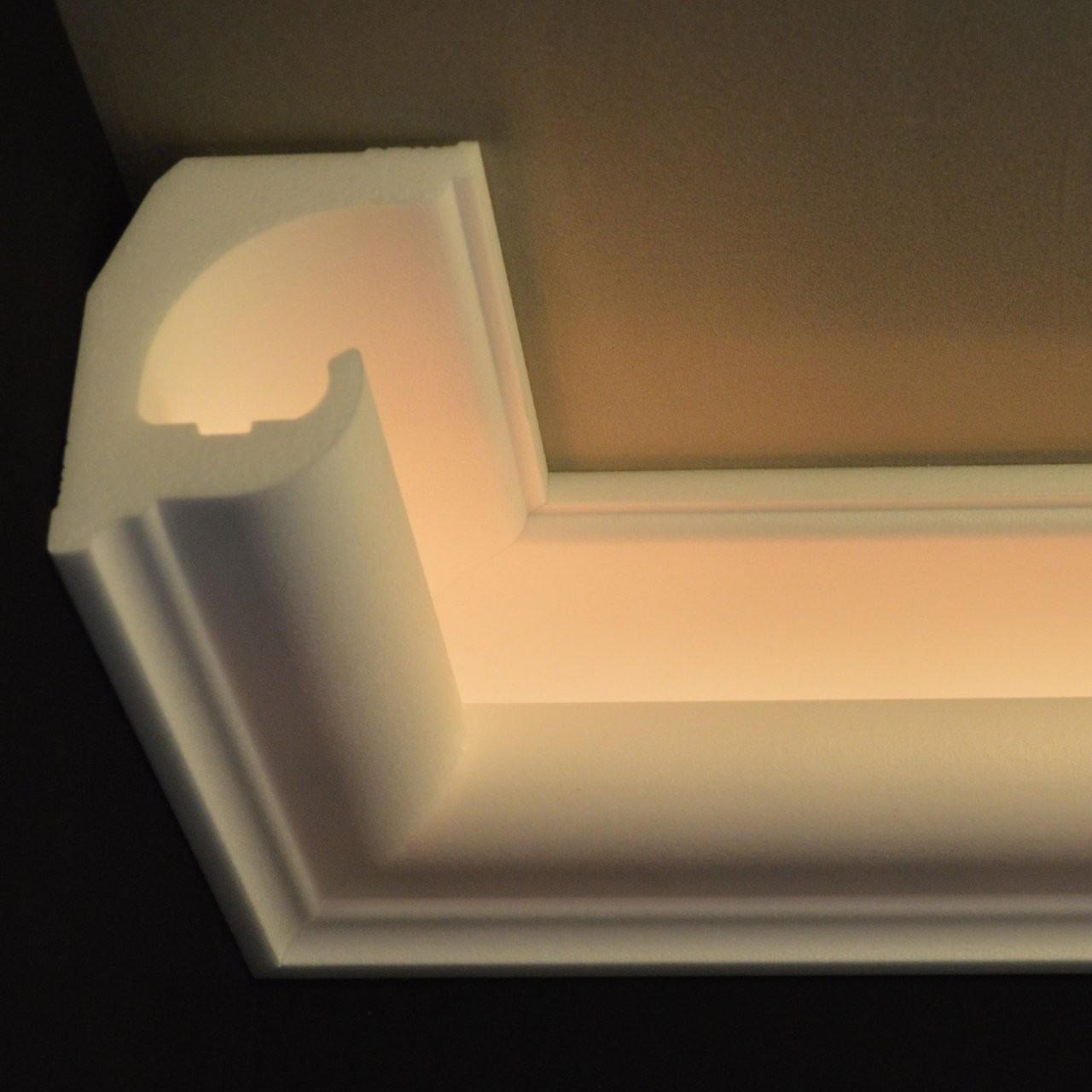 Stuck Ledbeleuchtung Profil Zierprofil von Stuck Mit Indirekter Beleuchtung Bild