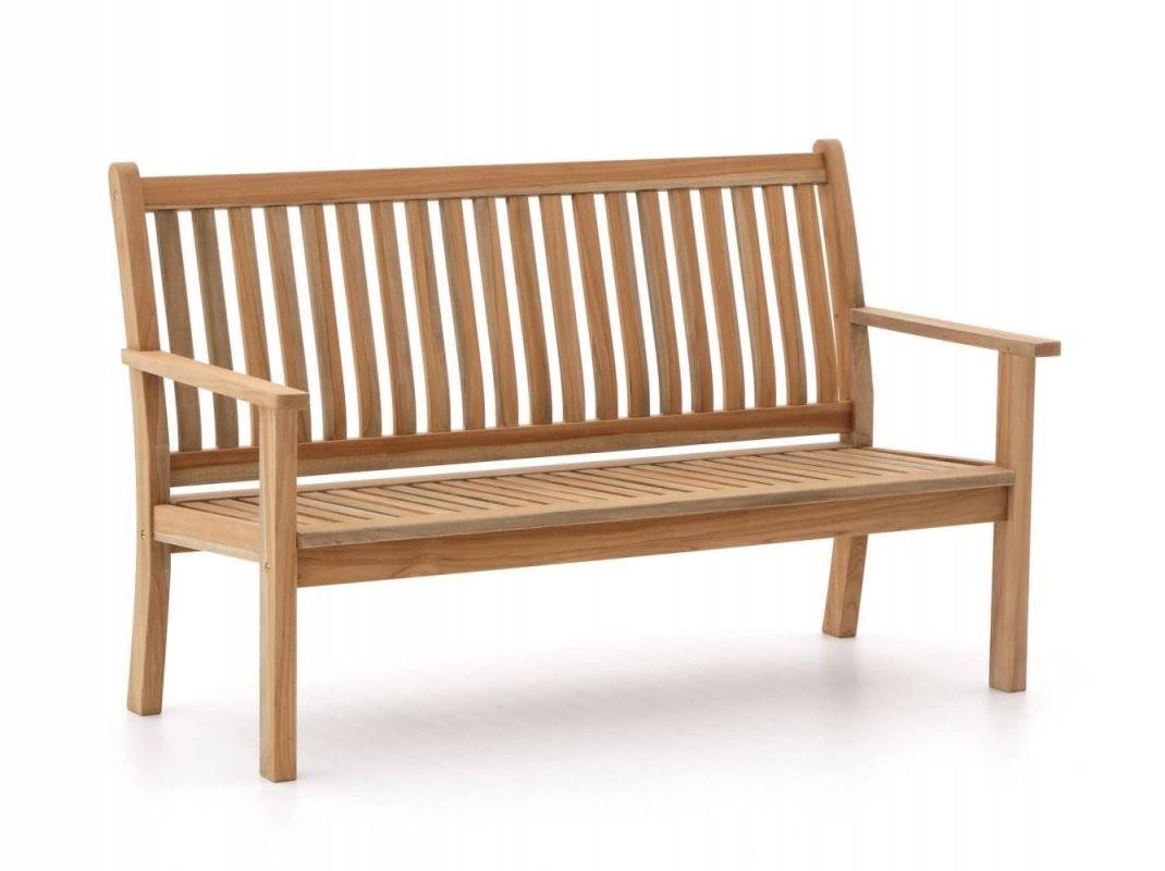 Sunyard Oxford Gartenbank 150 Cm  Teakholz  Kees Smit Gartenmöbel von Gartenbank Holz 120 Cm Bild
