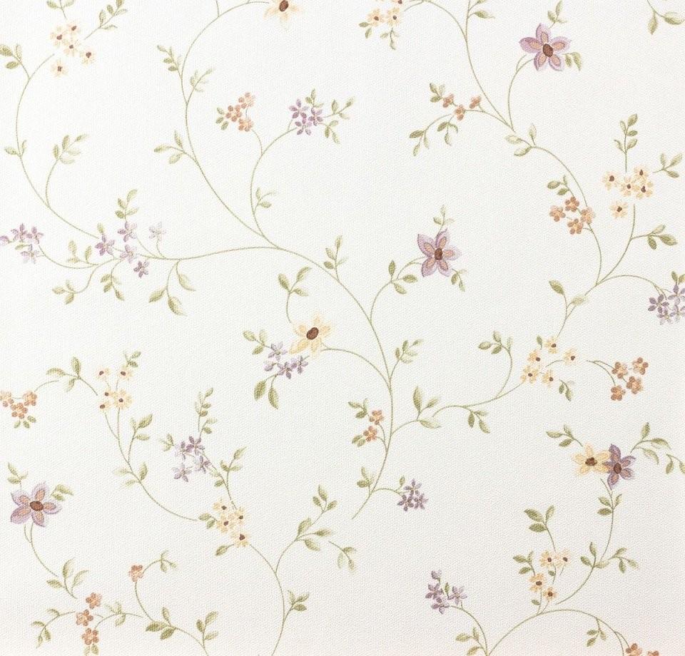 Tapete Pastel As 937701 Blumenranke Violett Grün Weiß In 2019 von Tapete Landhaus Floral Blümchen Photo