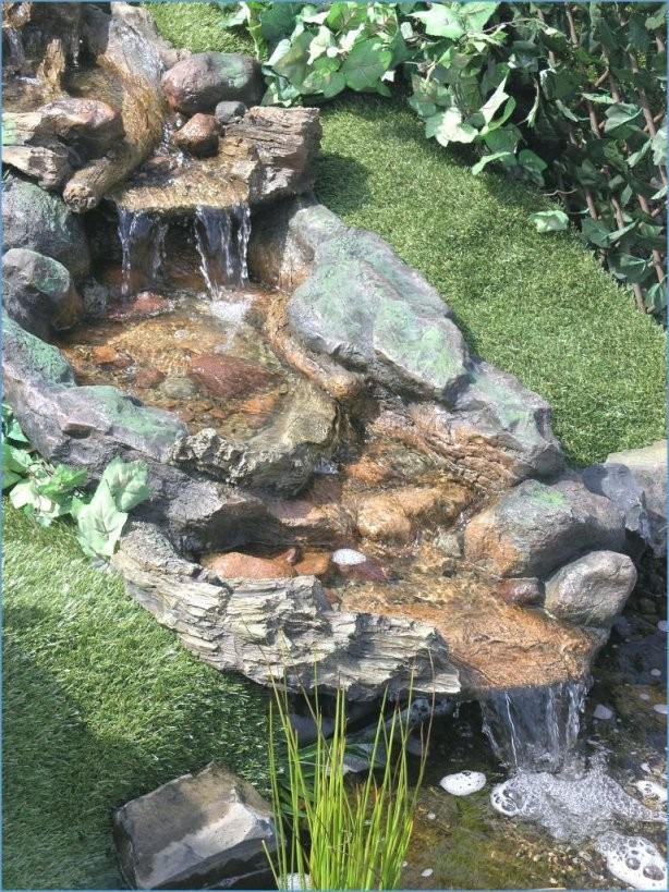 Teich Selber Bauen Beste Für Wasserfall Garten Bauen Anleitung Diy von Wasserfall Garten Bauen Anleitung Bild