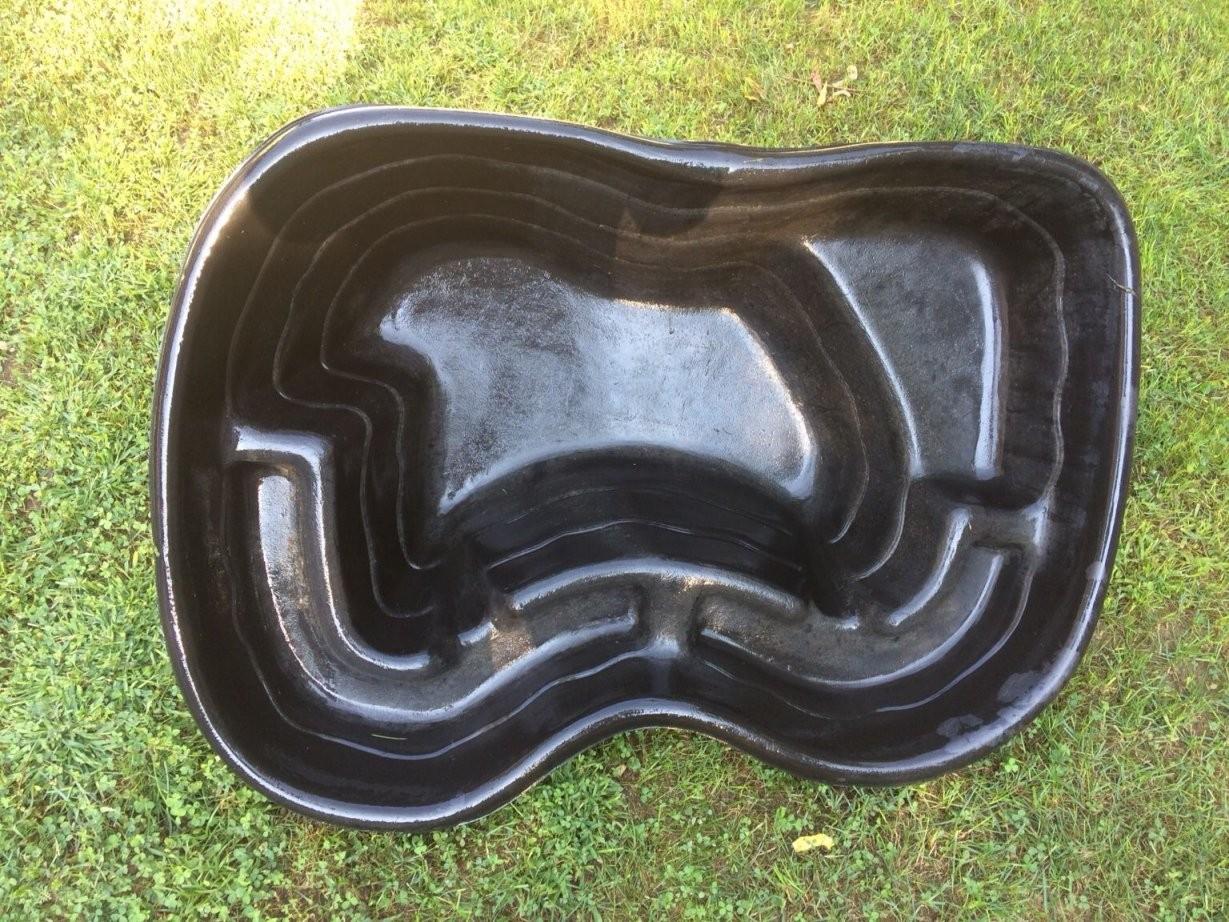 Teichwanne Bxlxh 85X115X41 0 Gebraucht von Gartenteiche Aus Kunststoff Gebraucht Bild
