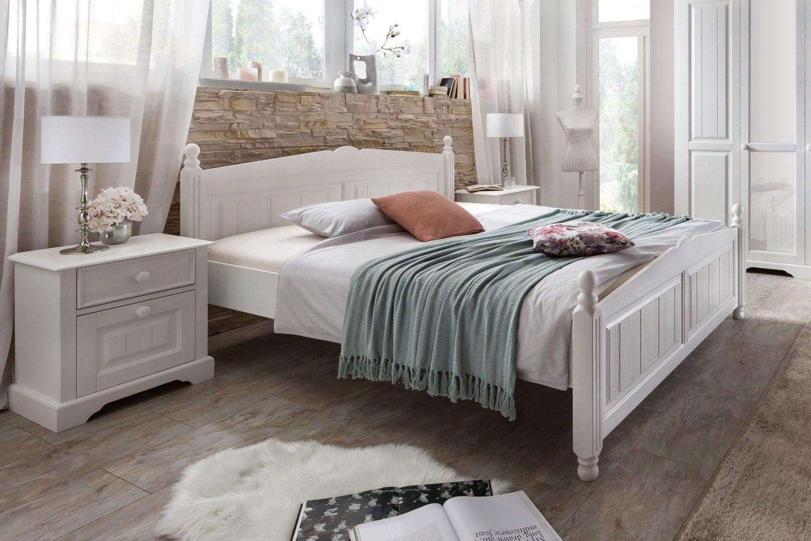 Telmex Pisa Schlafzimmer Pinie Landhaus  Möbel Letz  Ihr Onlineshop von Schlafzimmer Im Landhausstil Weiß Bild