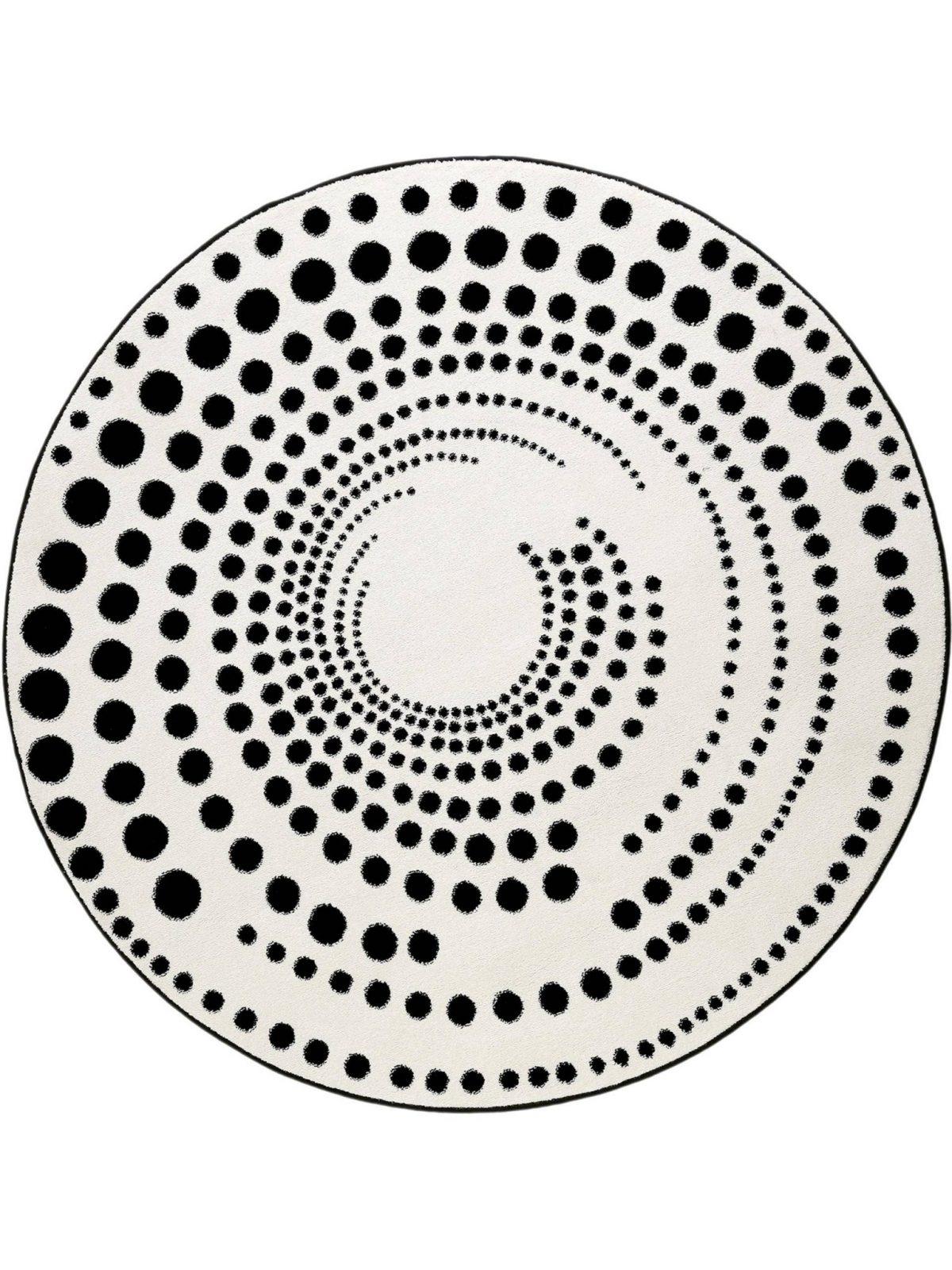 Teppich Rund 100 Cm Preisvergleich • Die Besten Angebote Ideen Von von Teppich Rund Schwarz Weiß Photo