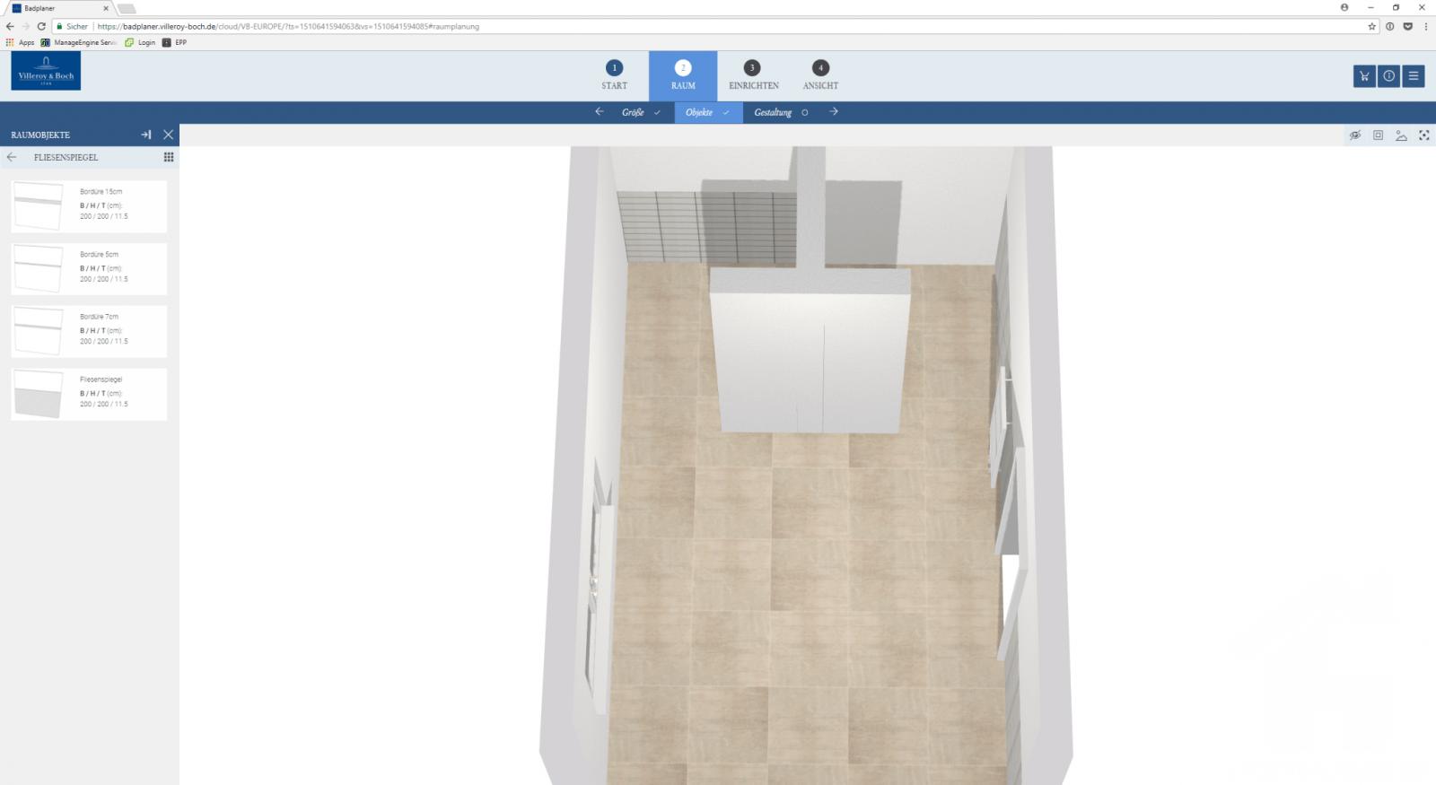 Test Der Villeroy Und Boch Online Badplaner  Seite 2 Von 3  Unser von Badplaner Villeroy Und Boch Bild