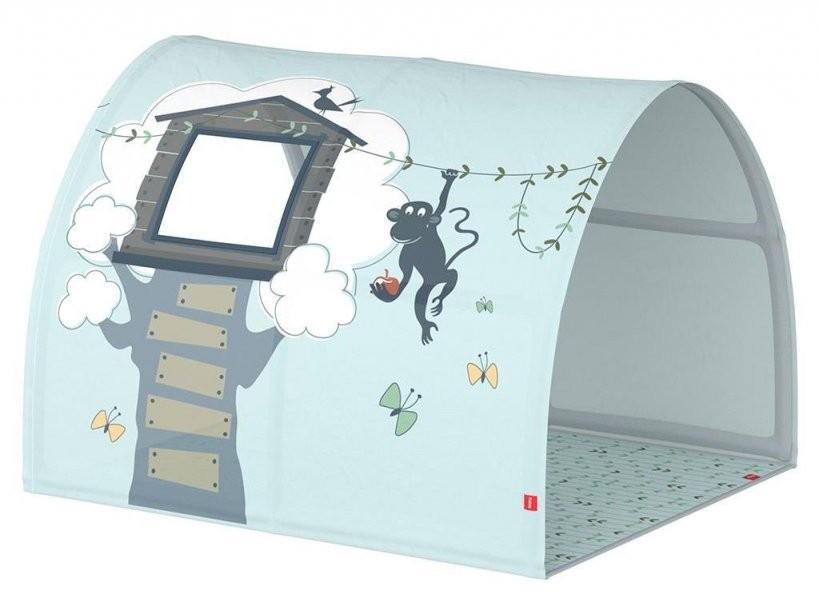 Textilien Bettzubehör von Tunnel Für Kinderbett Selber Machen Photo
