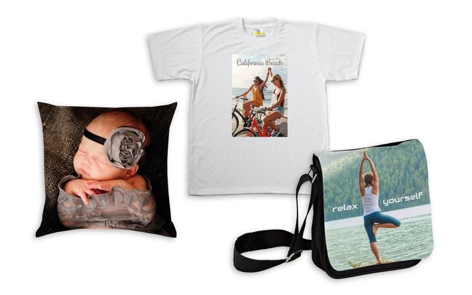 Textilien Mit Fotos Bedrucken  Selbst Gestalten  Happyfoto von Bettwäsche Bedrucken Lassen Text Bild