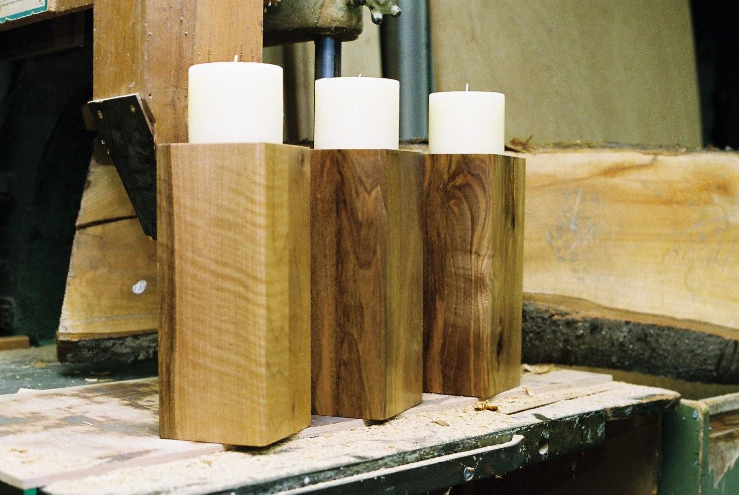 The Best Best  Ideen Aus Holz Selber Machen von Holz Kerzenständer Selber Machen Photo