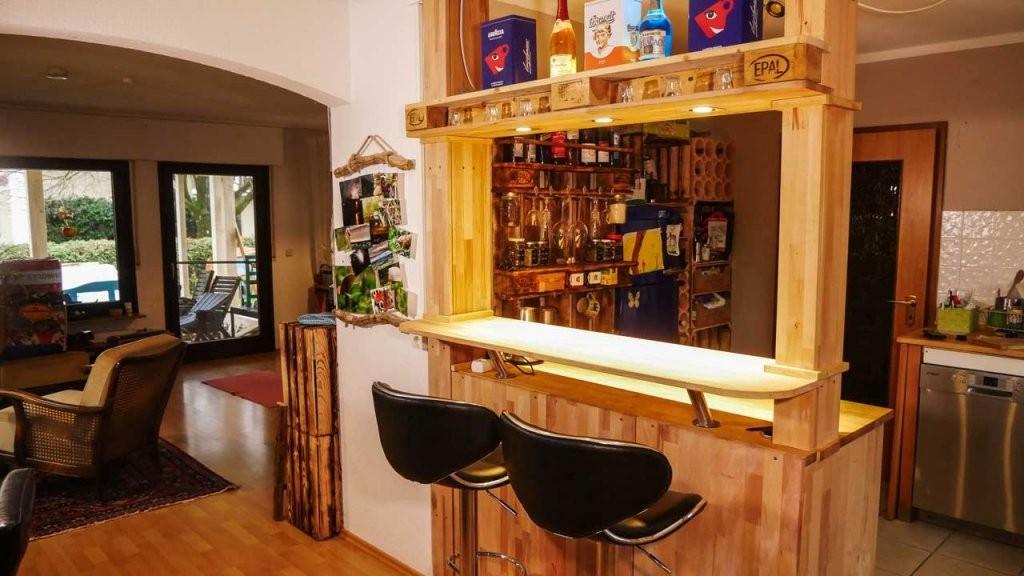Theke Bar Selber Bauen  Mademyself  Dein Diy Heimwerker Blog von Bar Selber Bauen Paletten Photo