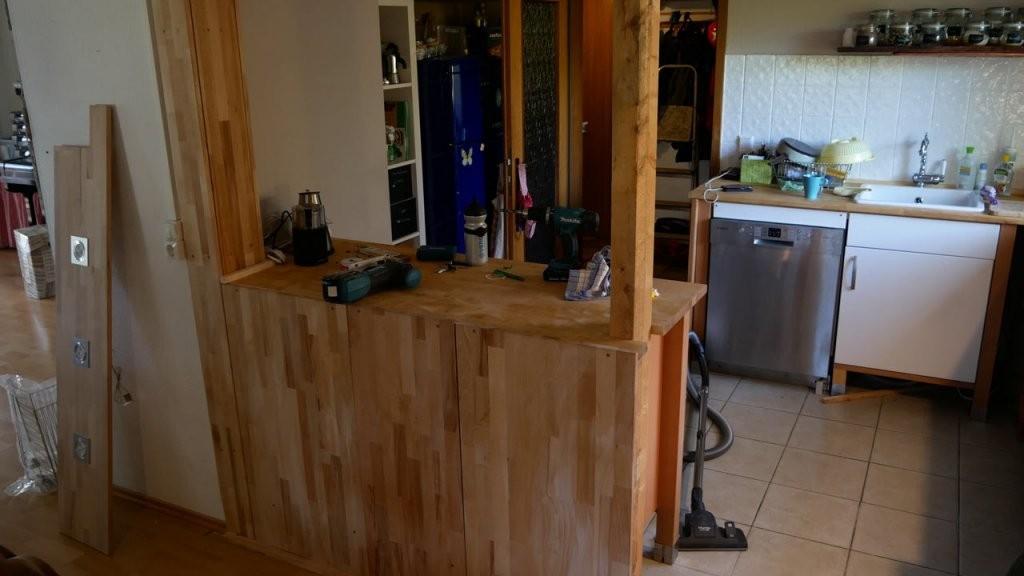 Theke Bar Selber Bauen  Mademyself  Dein Diy Heimwerker Blog von Theke Selber Bauen Ikea Photo