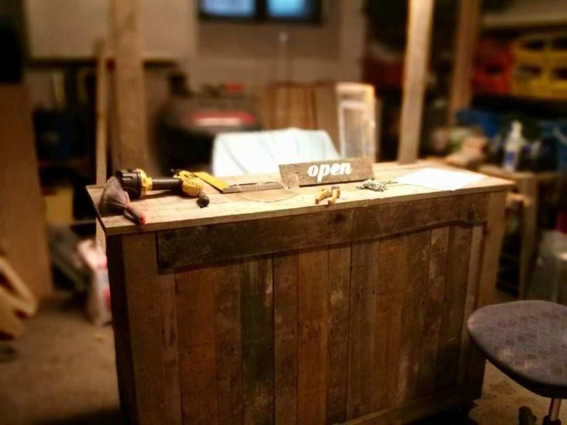 Theke Selber Bauen Ikea Amuda Genial Bar Holz  Einrichtungsideen von Theke Selber Bauen Holz Bild