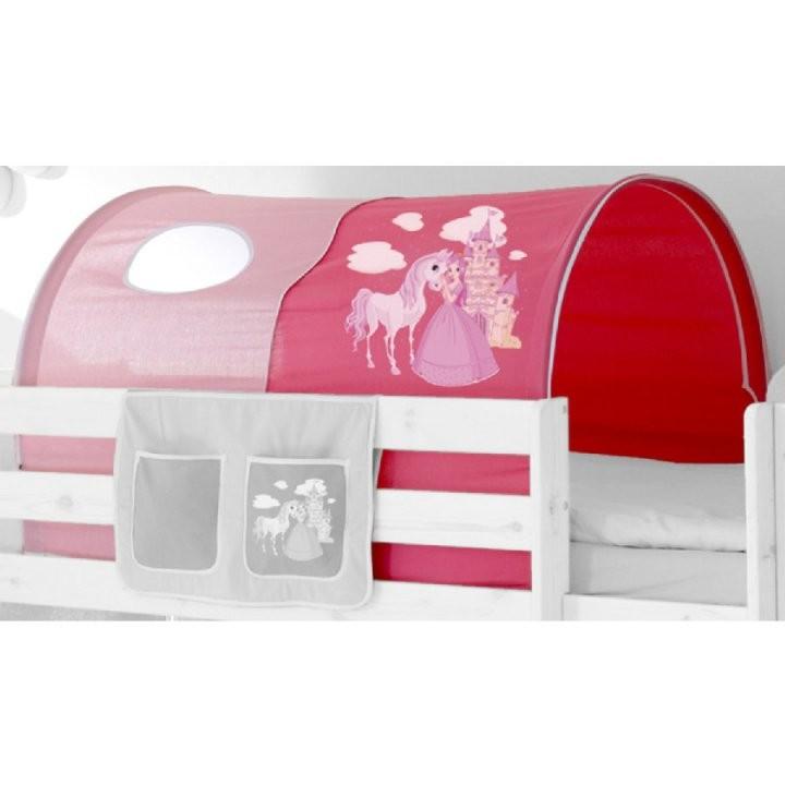 Ticaa Tunnel Für Hoch Und Etagenbetten Horse Rosapink  Babymarktat von Tunnel Für Kinderbett Selber Machen Bild