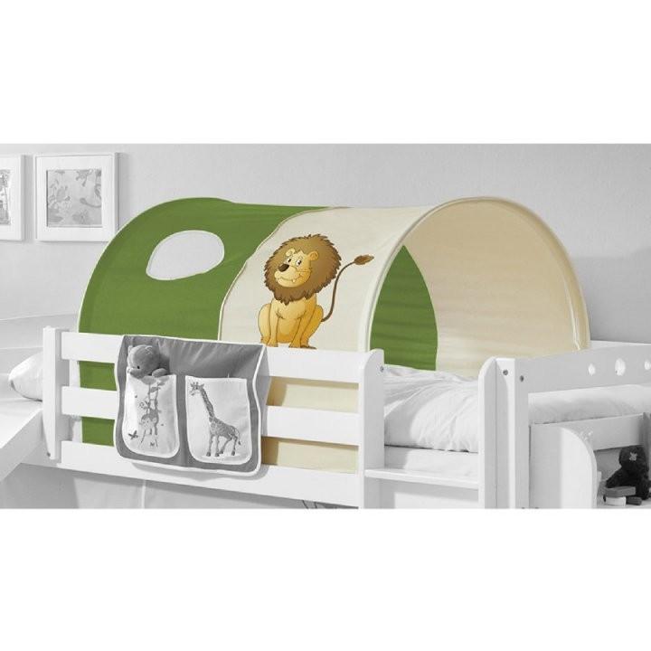 Ticaa Tunnel Für Hoch Und Etagenbetten  Safari  Babymarktat von Tunnel Für Kinderbett Selber Machen Bild