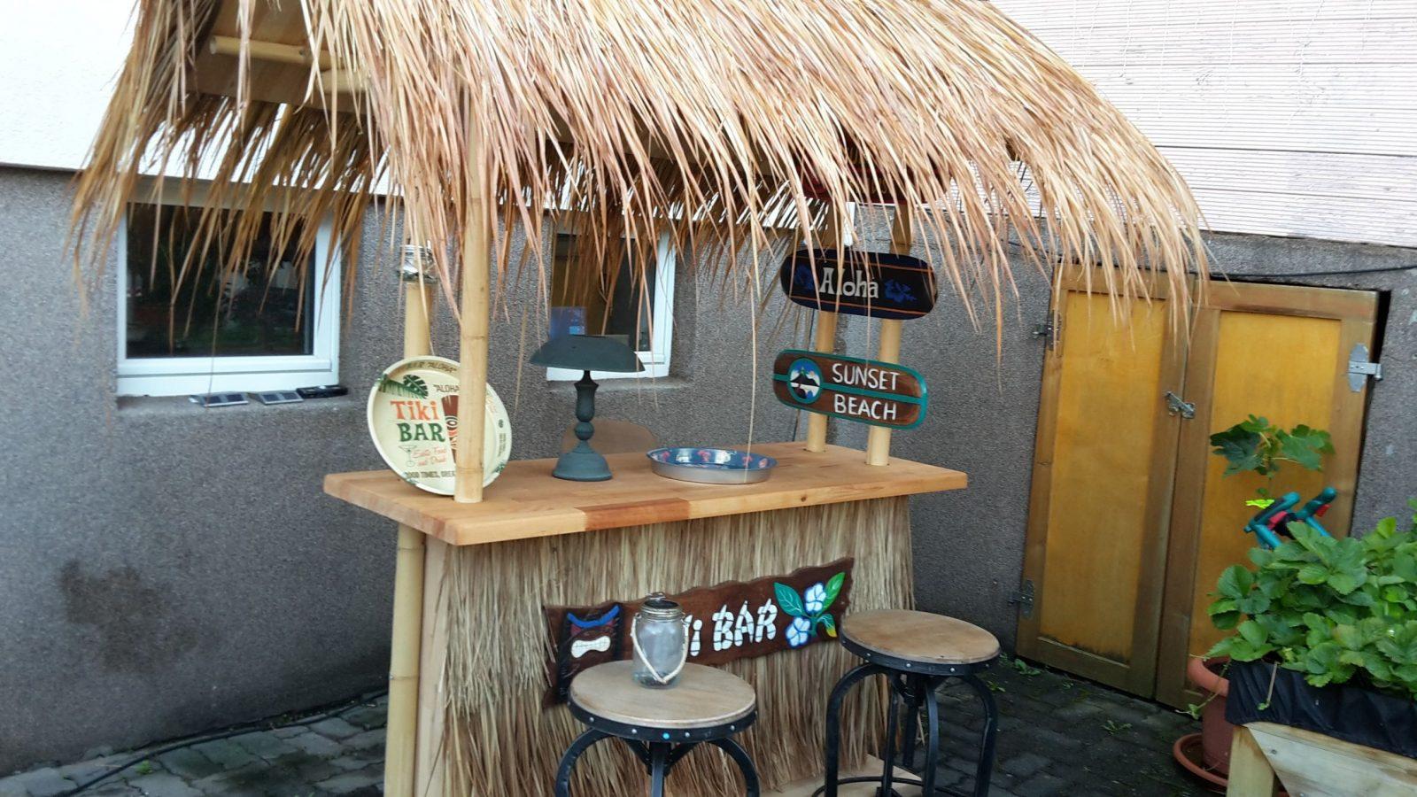 Tiki Bar Bauanleitung Zum Selber Bauen  Heimwerkerforum  Best Of von Bar Selber Bauen Anleitung Photo