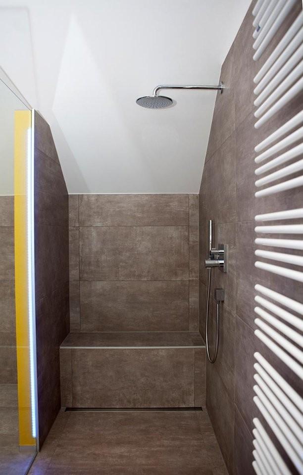 Tipps Für Walkindusche Gemauert Dachschräge Angepasst von Dusche In Der Dachschräge Photo