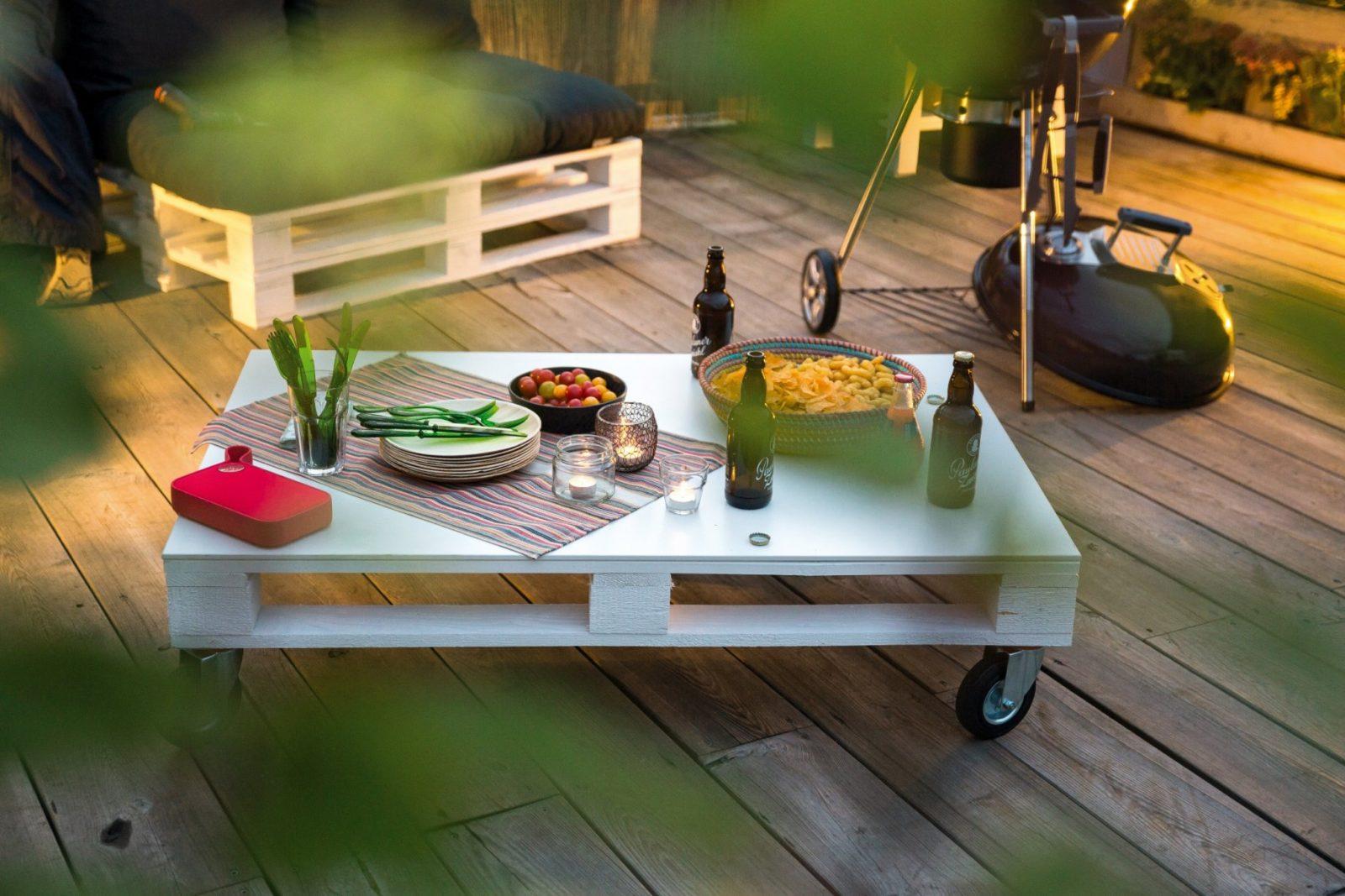 Tisch Aus Paletten Selber Bauen – Ideen Und Tipps  Obi von Tisch Selber Bauen Obi Bild
