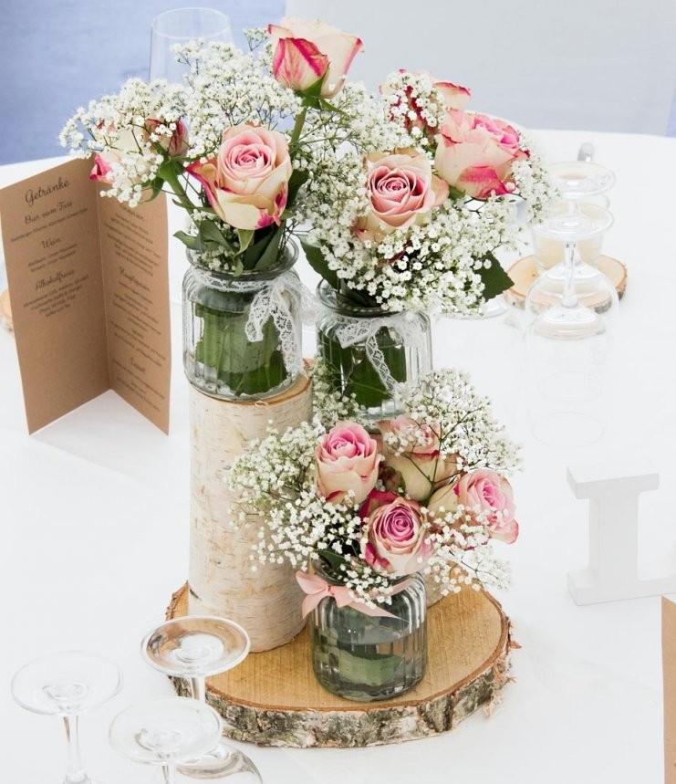 Tischdeko Für Hochzeiten – Über 40 Mustertische Ansehen  Tischdeko von Tischdeko Hochzeit Vintage Rosa Photo