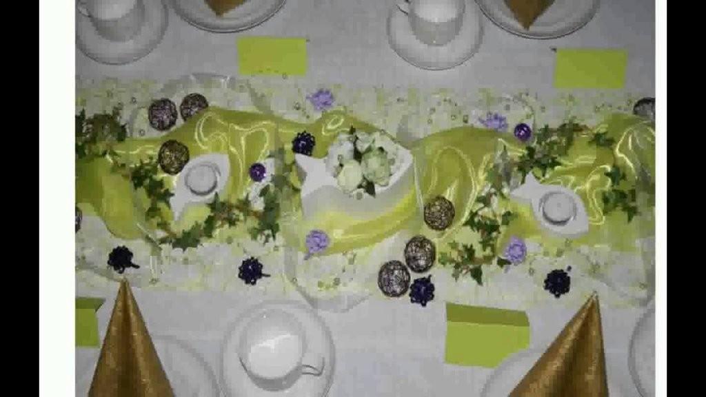 Tischdeko Zur Taufe Selber Machen  Youtube von Taufe Deko Selber Machen Photo