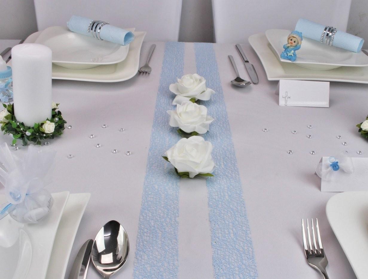Tischdeko Zur Taufe Taufdeko Auf Mustertische Von Tischdekoonline von Deko Taufe Selber Machen Bild