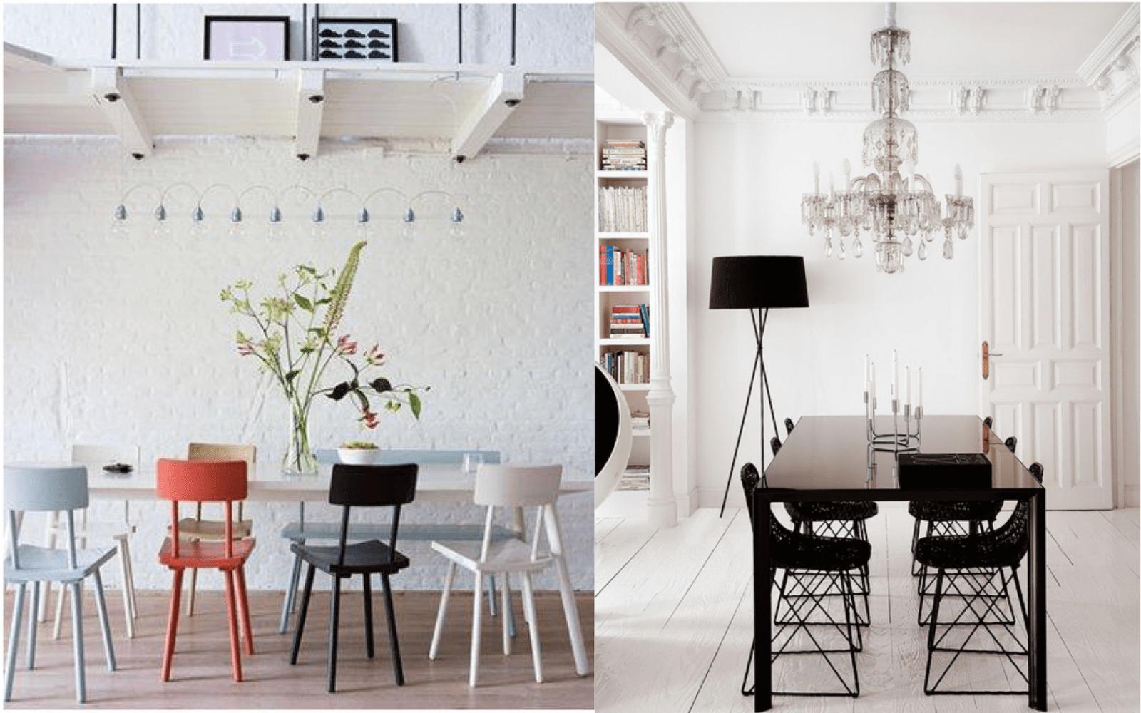Tische Und Stühle – Die Neuen Kombinationen  Sweet Home von Antiker Esstisch Mit Stühlen Bild
