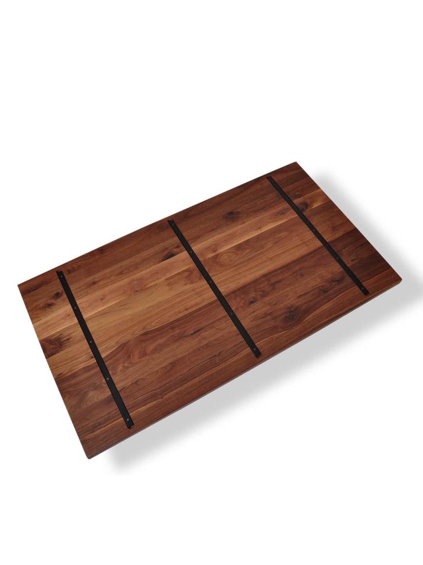 Tischplatten Mit Baumkante  Nussbaum Ast Mit Splintanteil  Mbzwo von Wetterfeste Tischplatten Nach Maß Bild