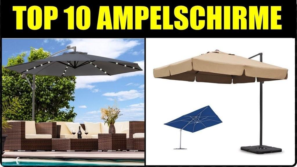 Top 10 Ampelschirme ☆ Ampelschirm Test ☆ Ampelschirm 2018 von Schneider Ampelschirm Rhodos Rondo Bild