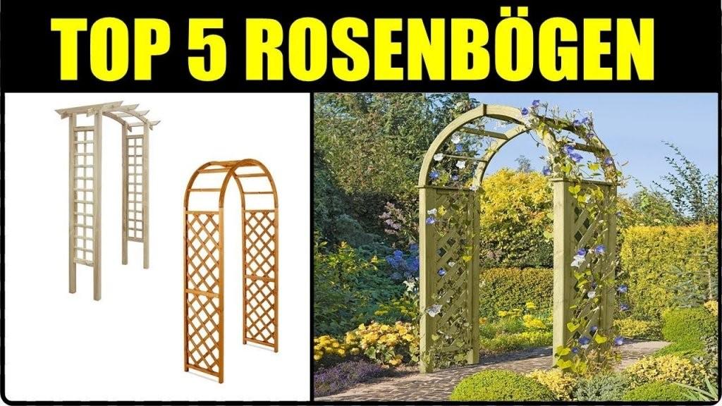 Top 5 Rosenbogen ☆ Rosenbogen Aus Holz ☆ Metall Rankbogen + von Rosenbogen Aus Holz Selber Bauen Bild