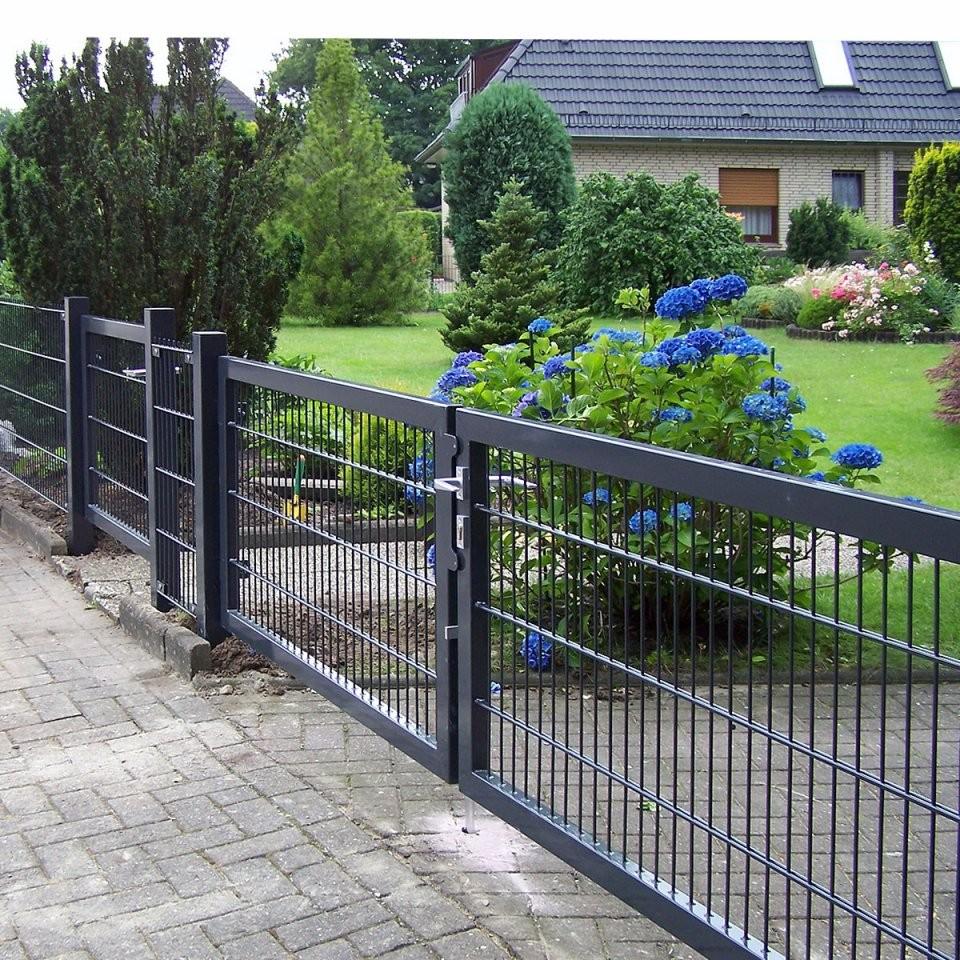 Tor Breite 2 M  Gartenzäune Sichtschutz Gabionen Tore von Gartentor 2 M Hoch Bild