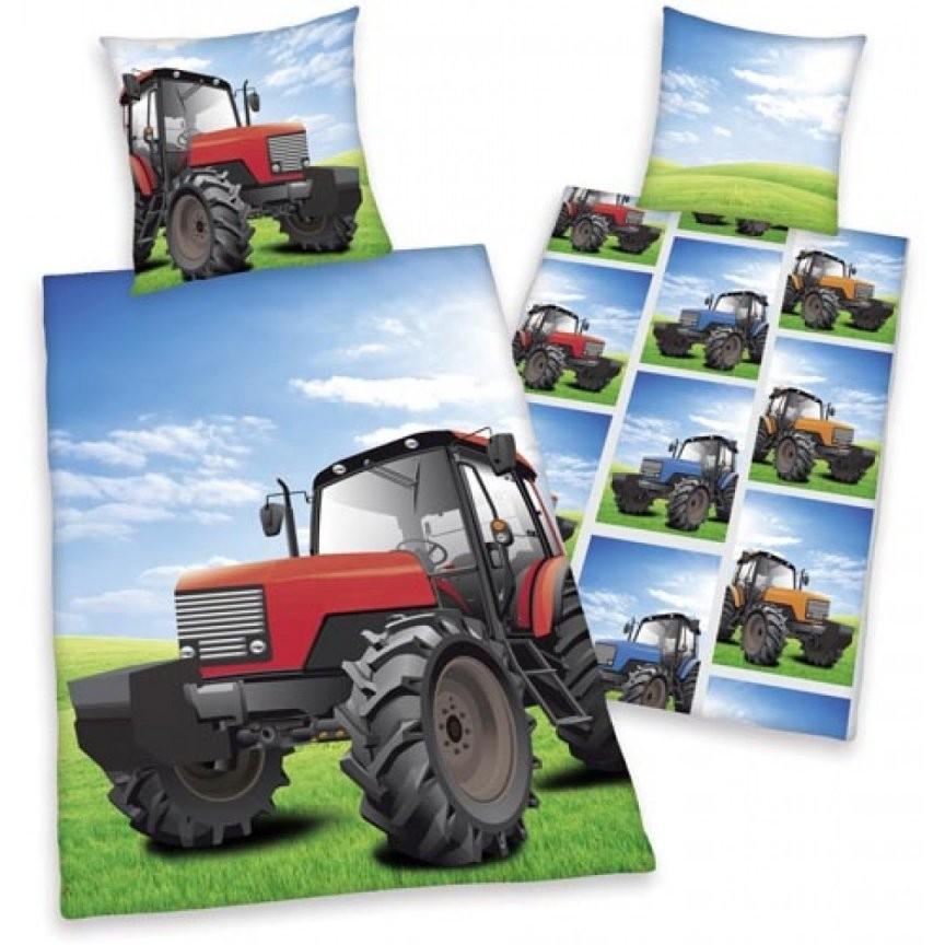 Traktorbettwäsche  Eilbote von Bettwäsche Kleiner Roter Traktor Bild