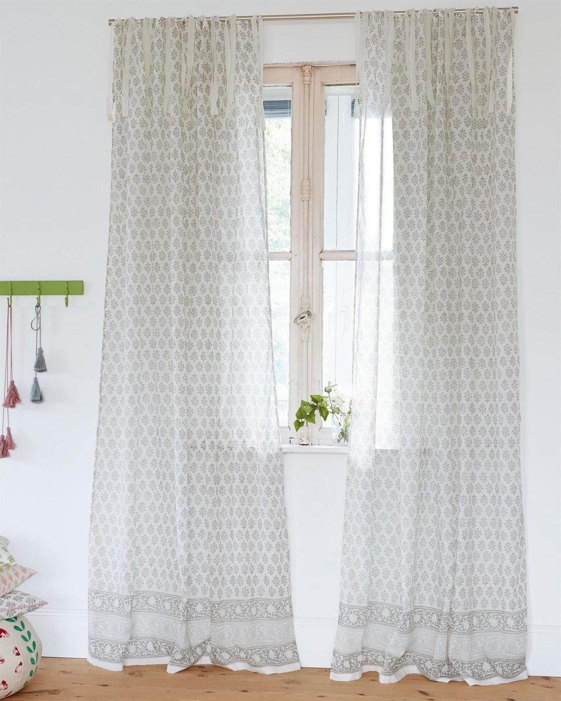 Transparente Vorhänge Finden Sie Hier  Vossberg von Vorhänge Mit Schlaufen Zum Binden Bild