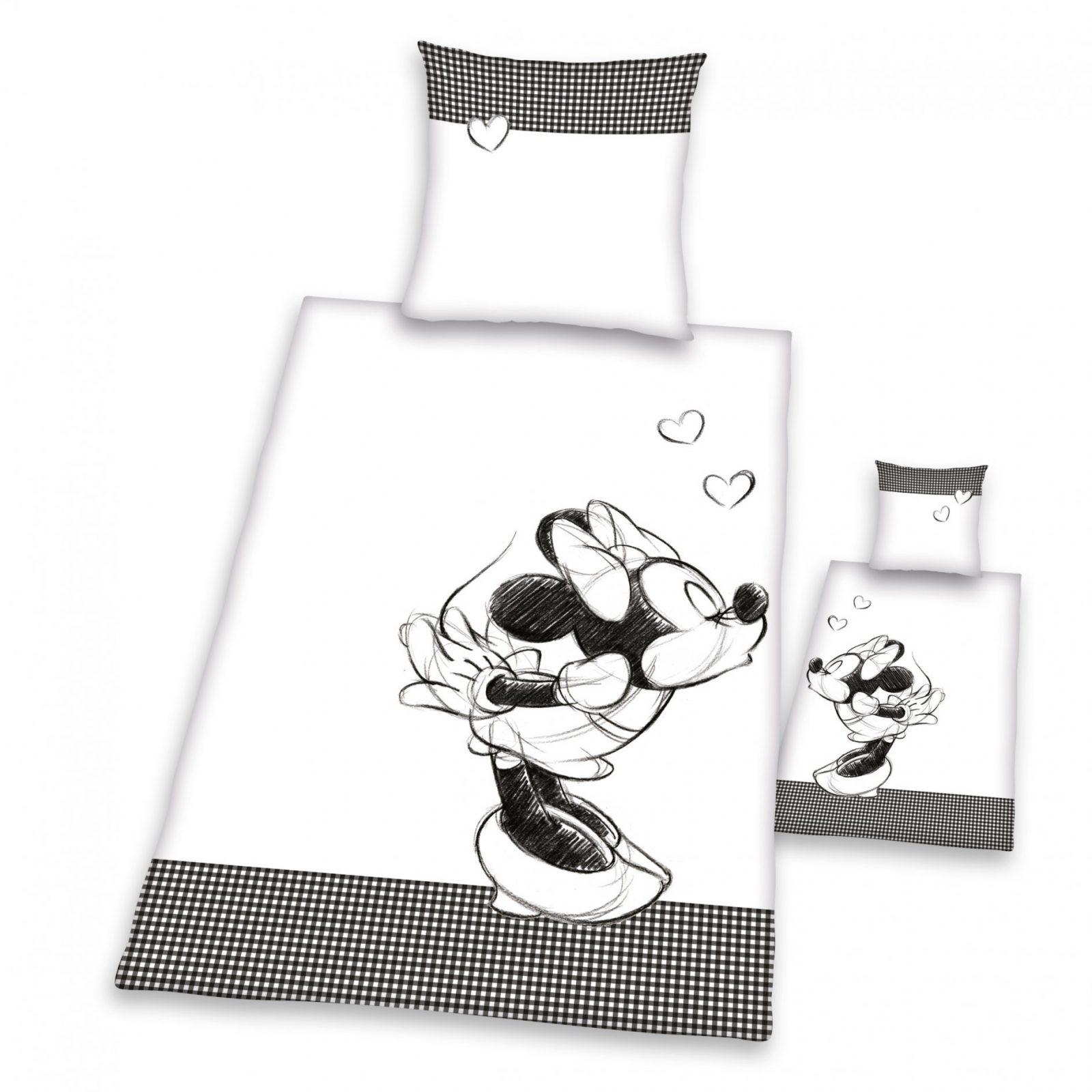 Trend Textilien Zum Kuscheln Und Träumen  Klaus Herding Gmbh von Partner Bettwäsche Mickey Mouse Und Minnie Mouse Bild