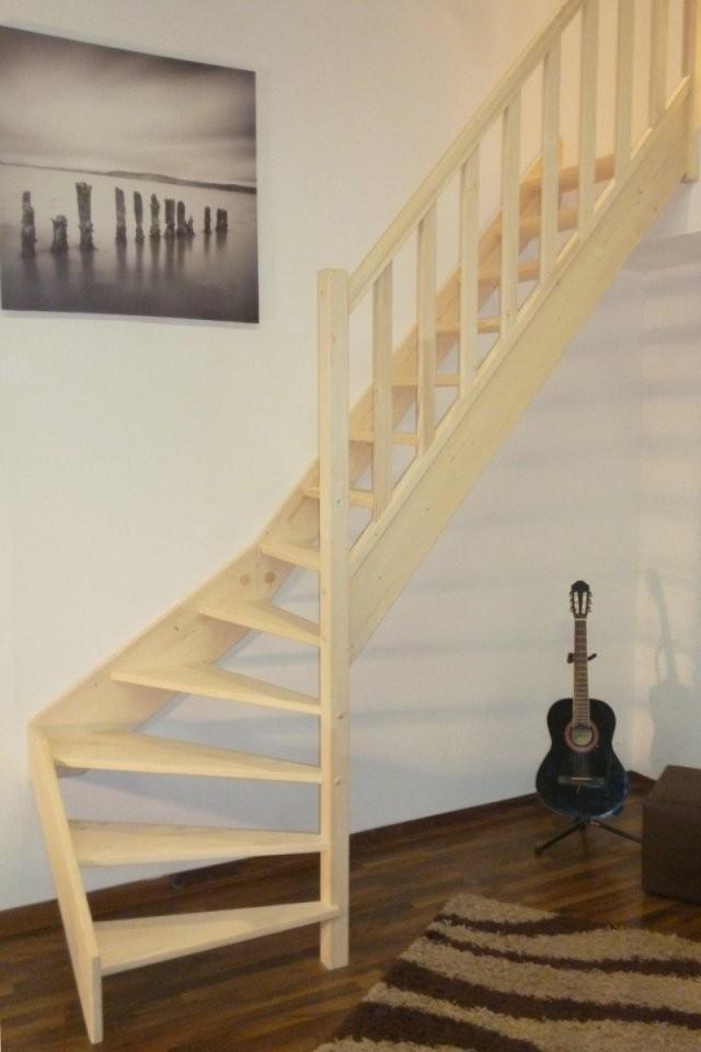 Treppe Alexander  Fichte  14 Unten Rechts Gewendelt von Treppe 1 4 Gewendelt Rechts Bild