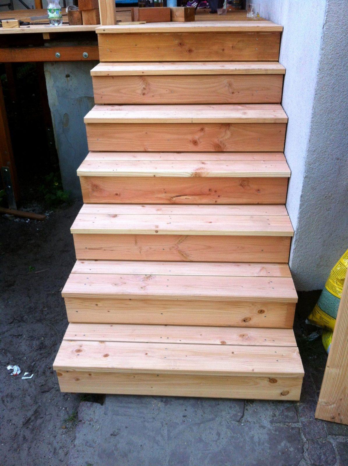 Treppe Selber Bauen Anleitung Das Beste Von Balkon Treppe Selber von Außentreppe Selber Bauen Holz Photo