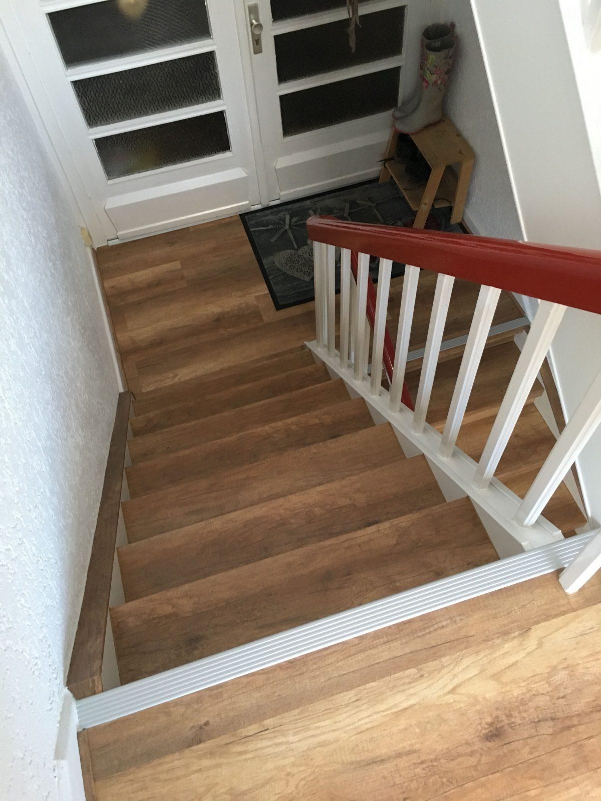 Treppenrenovierung Und Treppensanierung Von Vinylstufen Vinyltreppen von Alte Treppen Neu Gestalten Photo