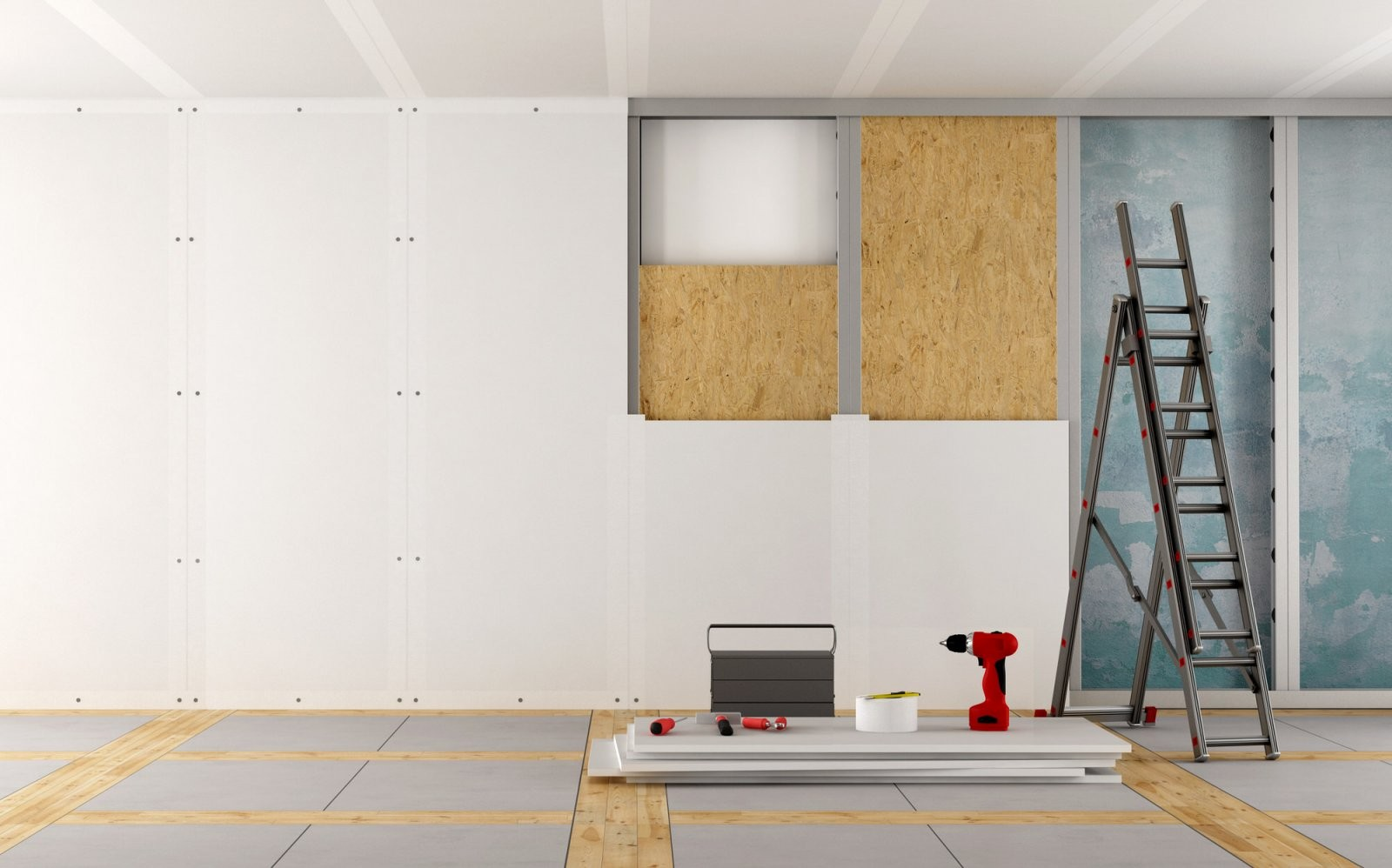 Trockenbauwandkosten – Was Kostet Ein Trockenbauprojekt  Heimhelden von Wohnung Streichen Lassen Kosten Photo